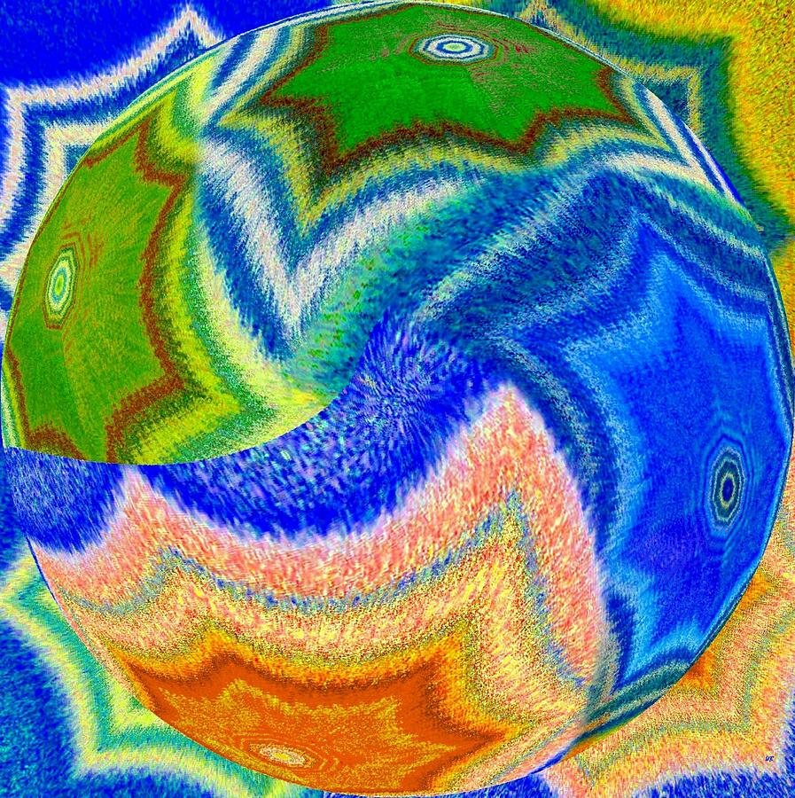 Abstract Fusion Digital Art - Abstract Fusion 155 by Will Borden
