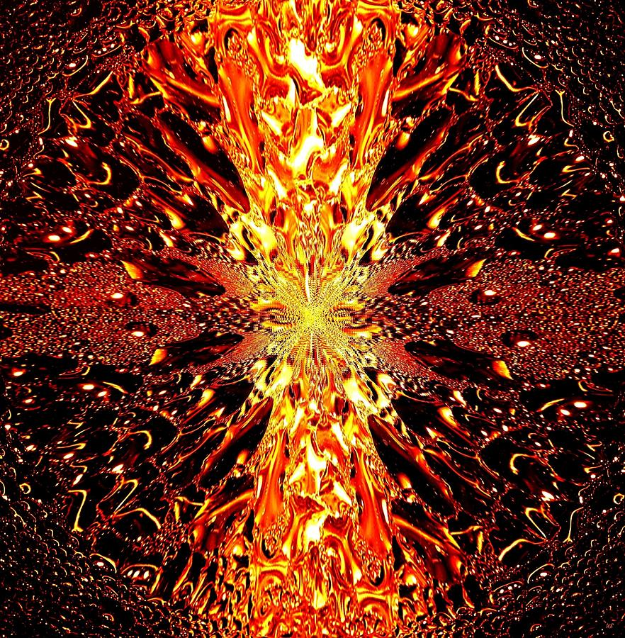 Abstract Fusion Digital Art - Abstract Fusion 73 by Will Borden