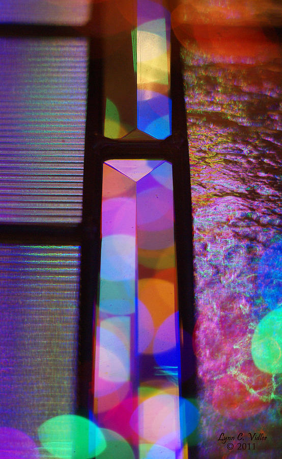 Prism Photograph - Abstract Geometry by Lynn Vidler