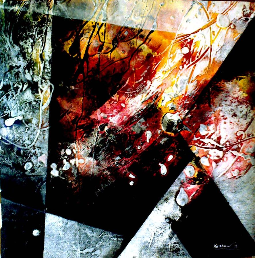 Abstract Painting by Keshaw Kumar