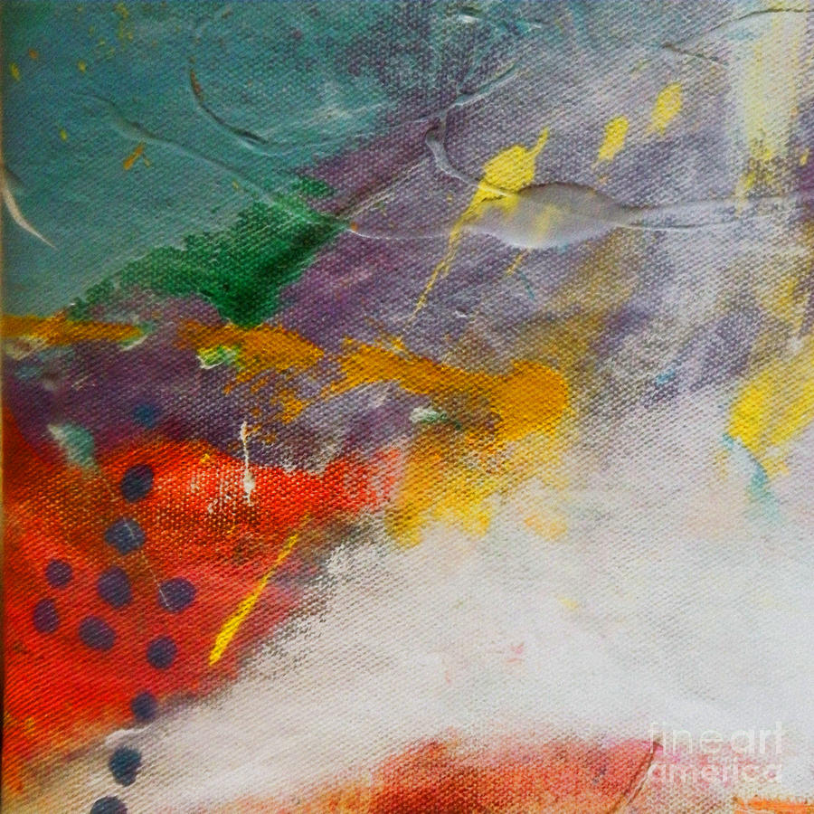 Abstract Painting - Abstract Landscape by Robert Daniels