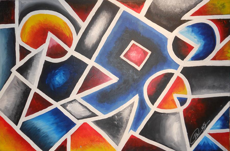 Abstract Painting - Abstract by Matthew Odegard