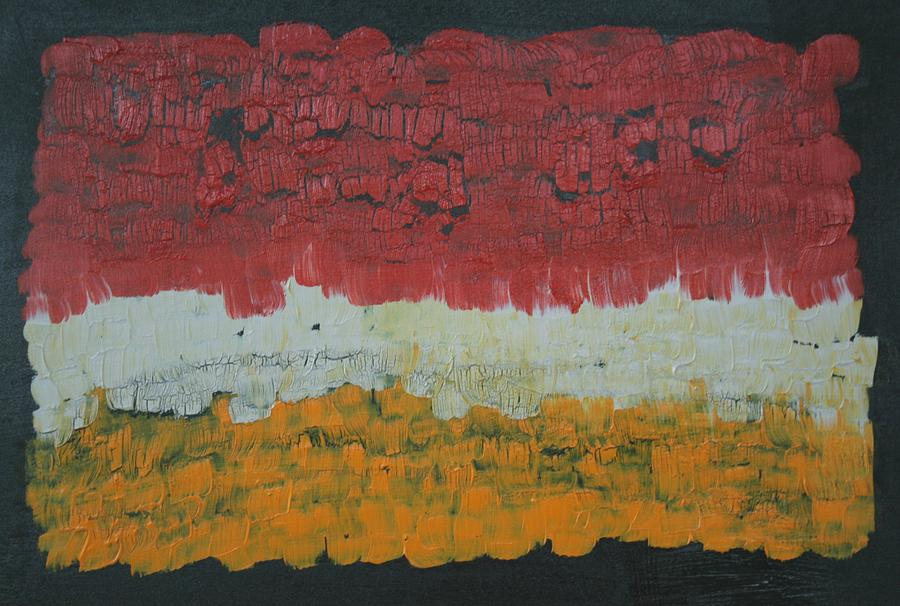 Red Abstract Painting - Abstract Number 6 by James Johnson