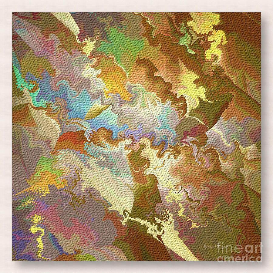 Abstract Photograph - Abstract Puzzle by Deborah Benoit