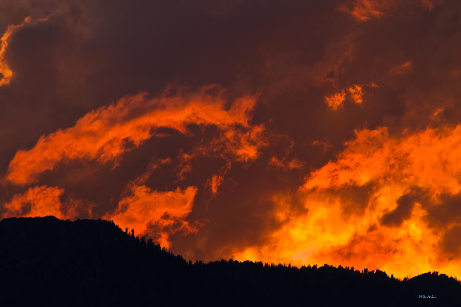 Abstract Sunset Photograph - Abstract Sunset by Mitch Shindelbower