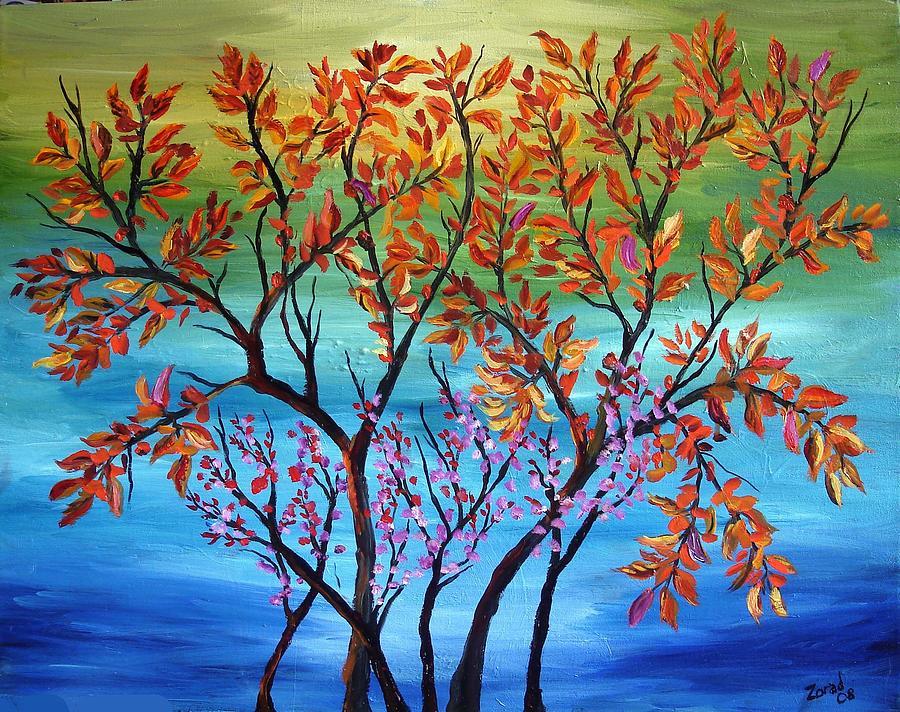 Abstract Tree Series #37 by Mary Jo Zorad