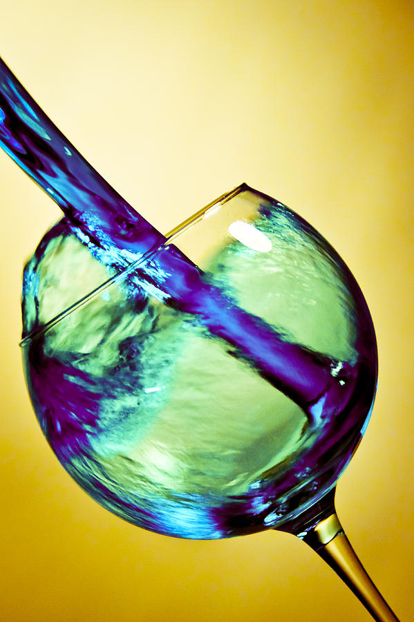 Abstract Wine Photograph