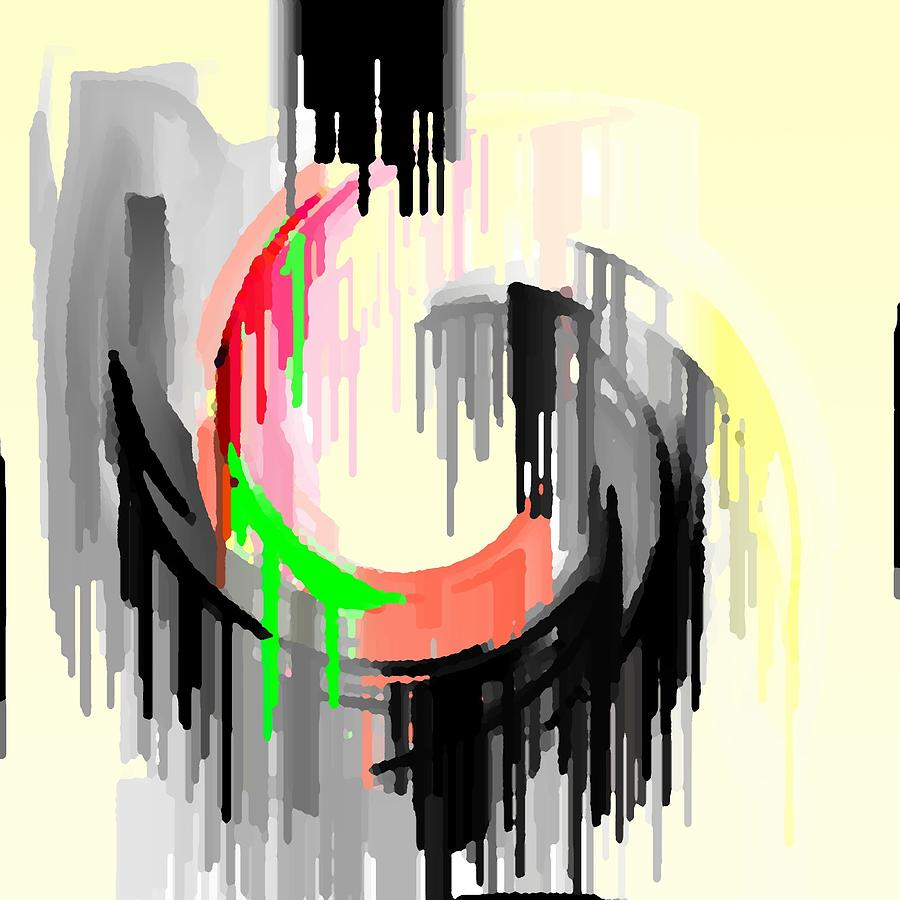 Abstract Digital Art - Abstracto 89478947894798 by Rod Saavedra-Ferrere