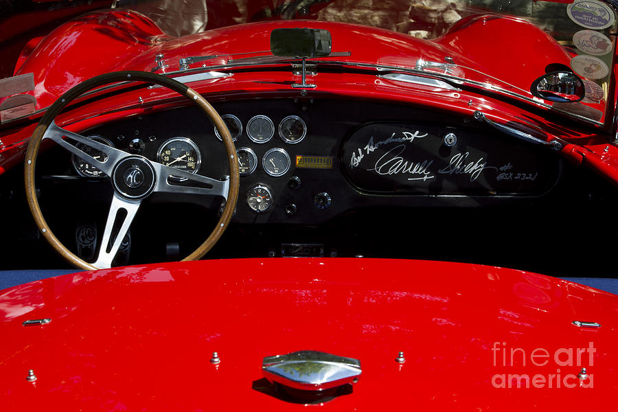 Classic Photograph - Ac Cobra by Dennis Hedberg