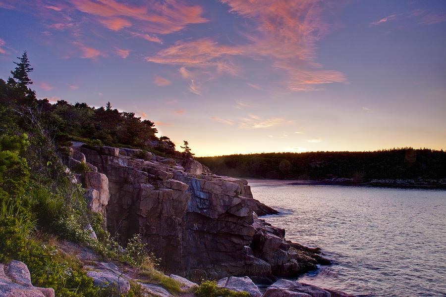 Sunrise Photograph - Acadian Sunrise by Jim Neumann
