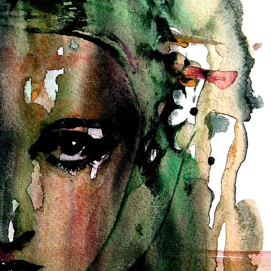 Face Painting - Accept Me For What I Am  by Paul Lovering