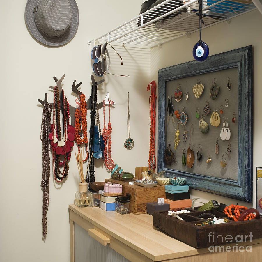 Accessories Photograph - Accessories Storage by Ben Sandall