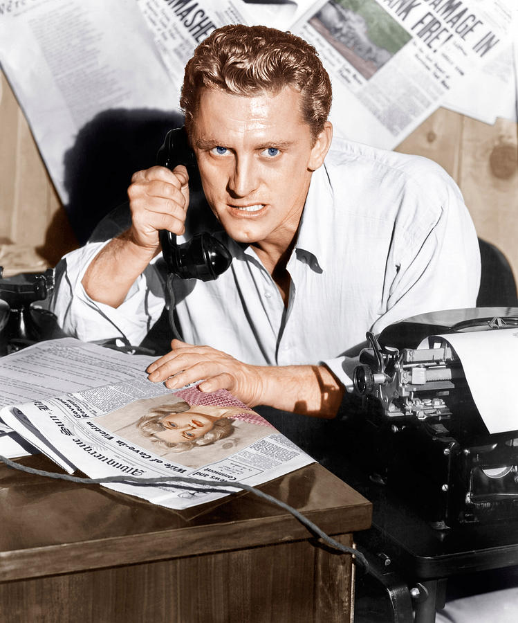 1951 Movies Photograph - Ace In The Hole, Kirk Douglas, 1951 by Everett