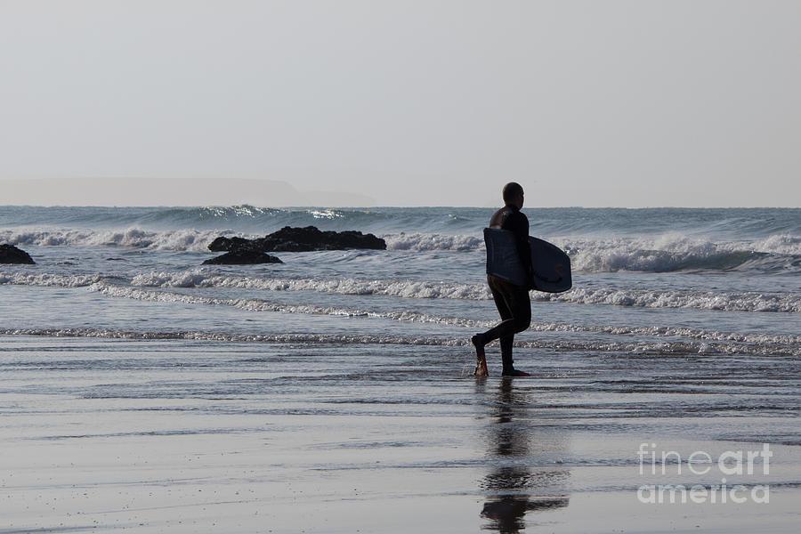 Cornish Seascape Photograph - Acquaman by Brian Roscorla