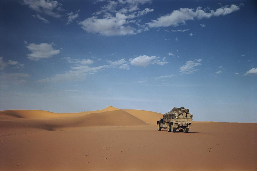 National Geographic Photograph - Ad Dahna Is The Red Sand Desert, Twenty by Maynard Owen Williams
