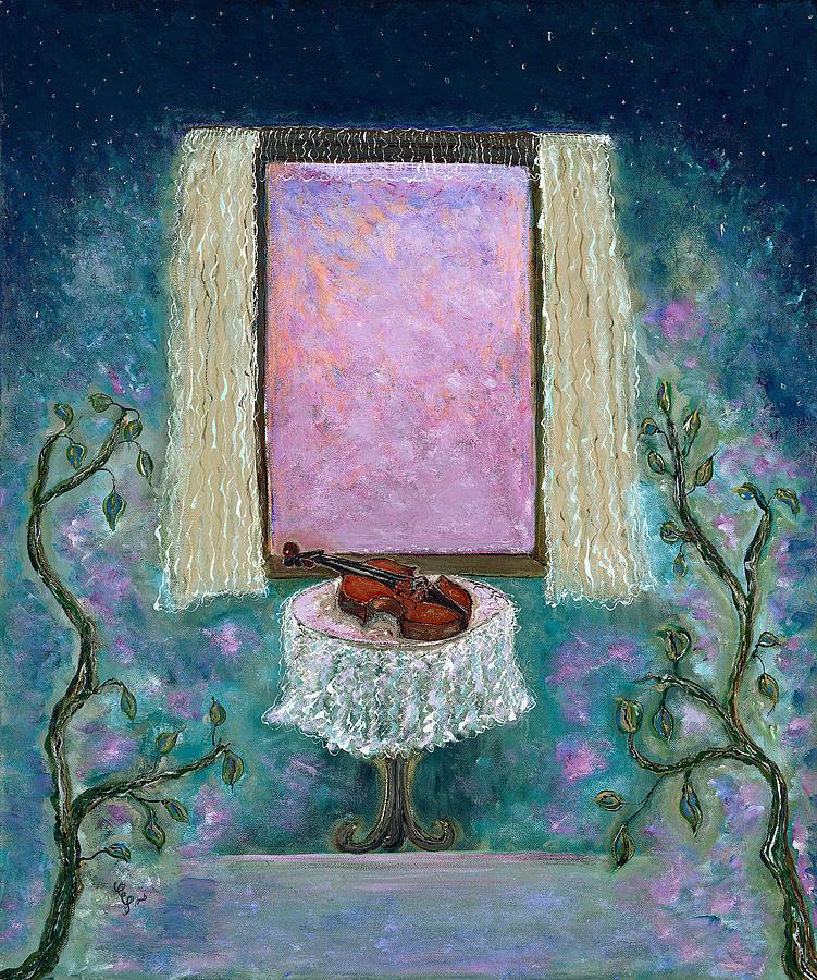 Adagio Painting - Adagio by Erika Morrison