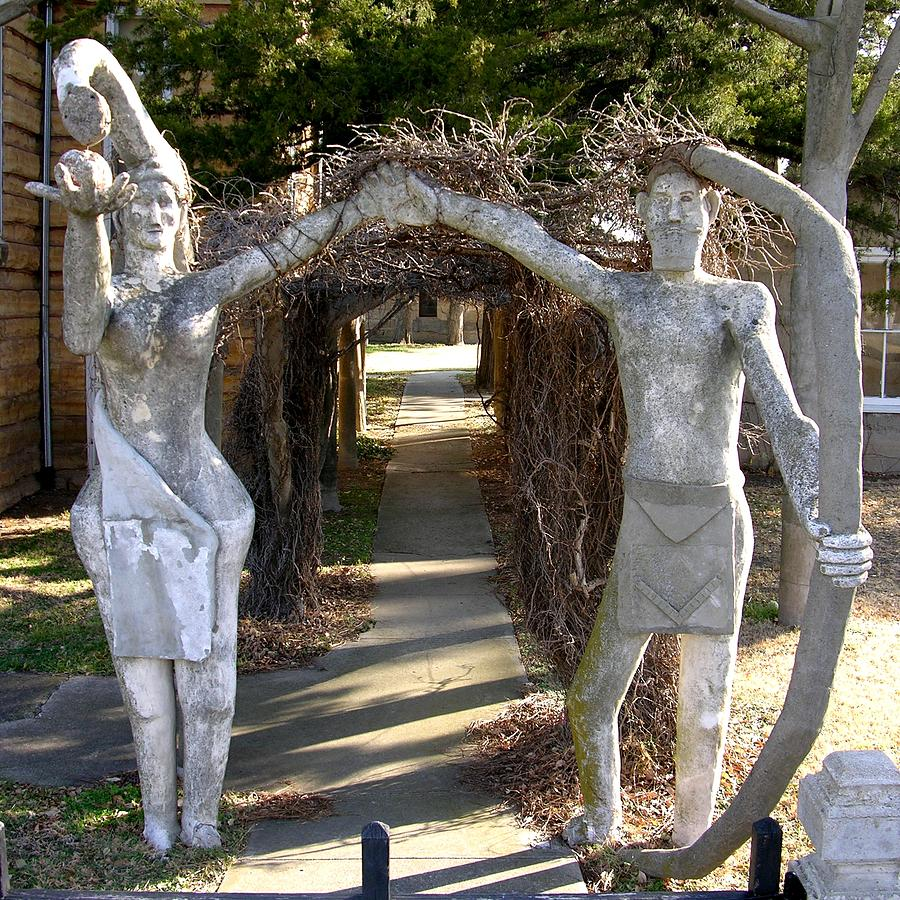 garden of eden photograph adam and eve in the garden of eden by keith stokes - Garden Of Eden Kansas