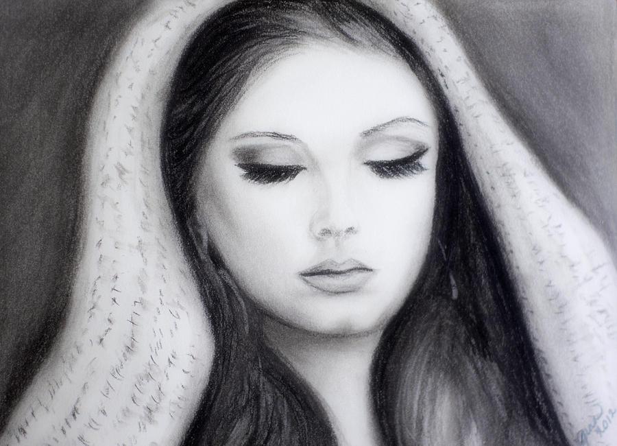 Pop Artist Drawing - Adele by Gina Cordova