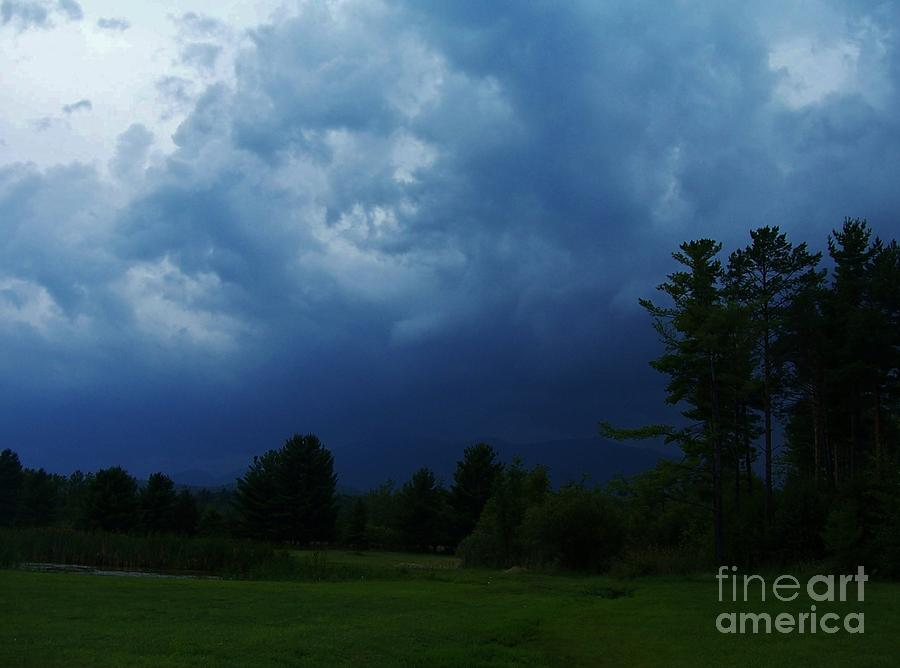 Adirondack Thunderstorm Photograph by Peggy Miller