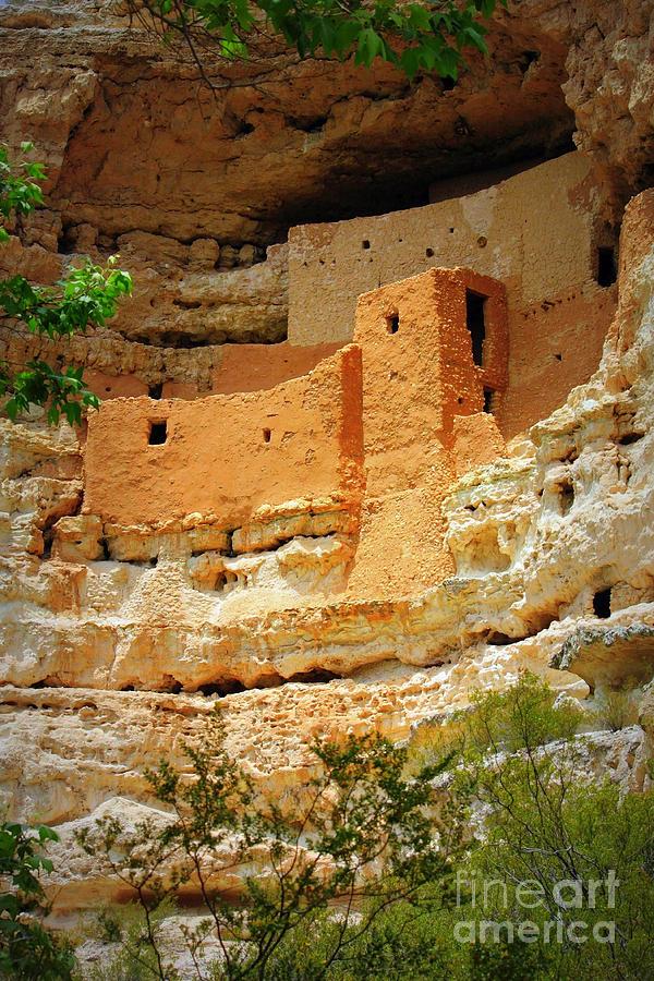 Arizona Photograph - Adobe Cliff Dwelling by Carol Groenen
