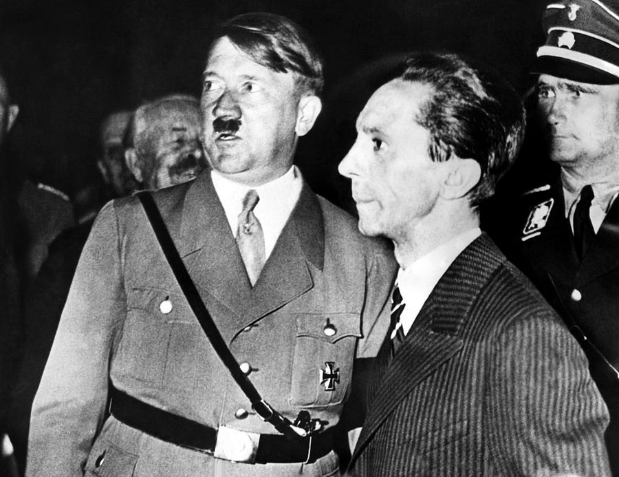 adolf hitler and joseph goebbles Born paul joseph goebbels in 1897, the infamous doctor was actually a phd that graduated from heidelberg university after writing his thesis on the subject of 19 th century romantic drama he was a writer for many years and it is likely his creative skills that made him such a powerful man behind the nazi propaganda machine.