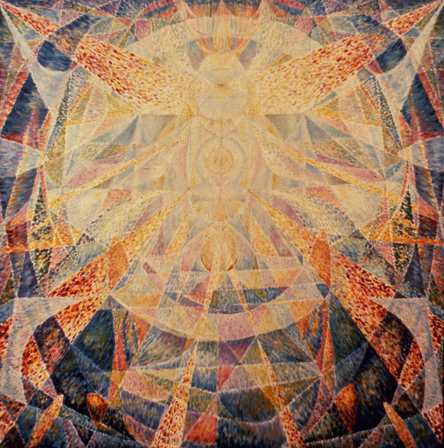 Symbolist Painting - Adonai by Daniel Gautier
