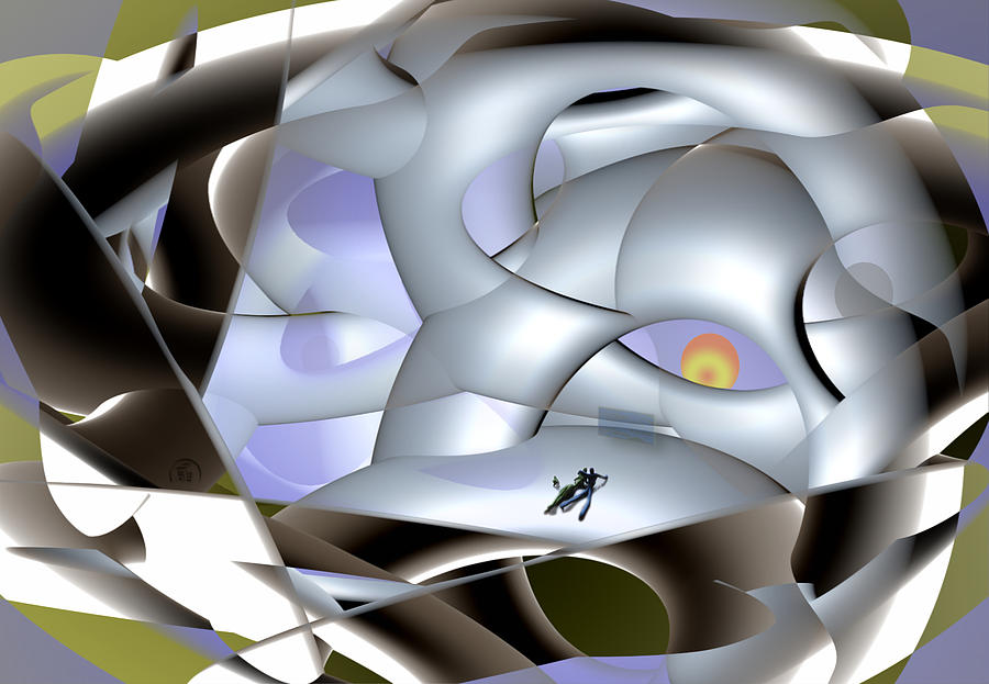 Abstract Digital Art - Adventure Design by Florin Birjoveanu