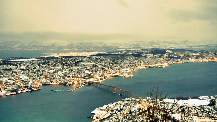 Horizontal Photograph - Aerial View Of City by Piero Damiani