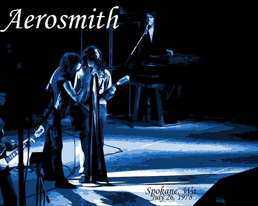 Aerosmith Photograph - Aerosmith In Spokane 12c by Ben Upham