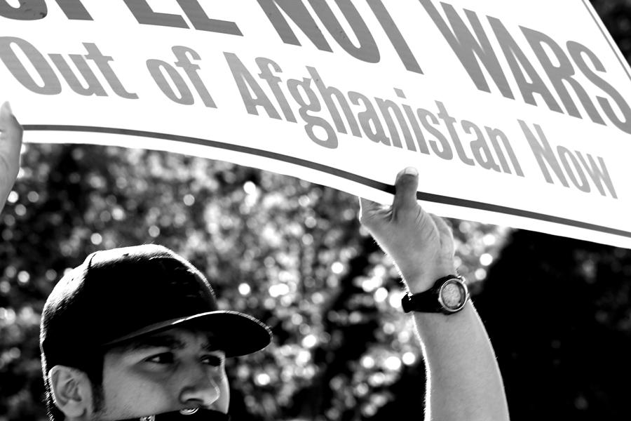 Occupy Photograph - Afghanistan by Sonya Anthony