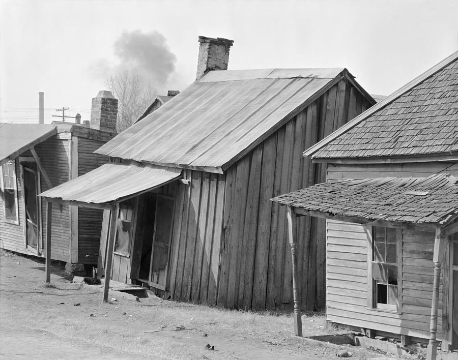 African American Houses Titled Negro Photograph By Everett