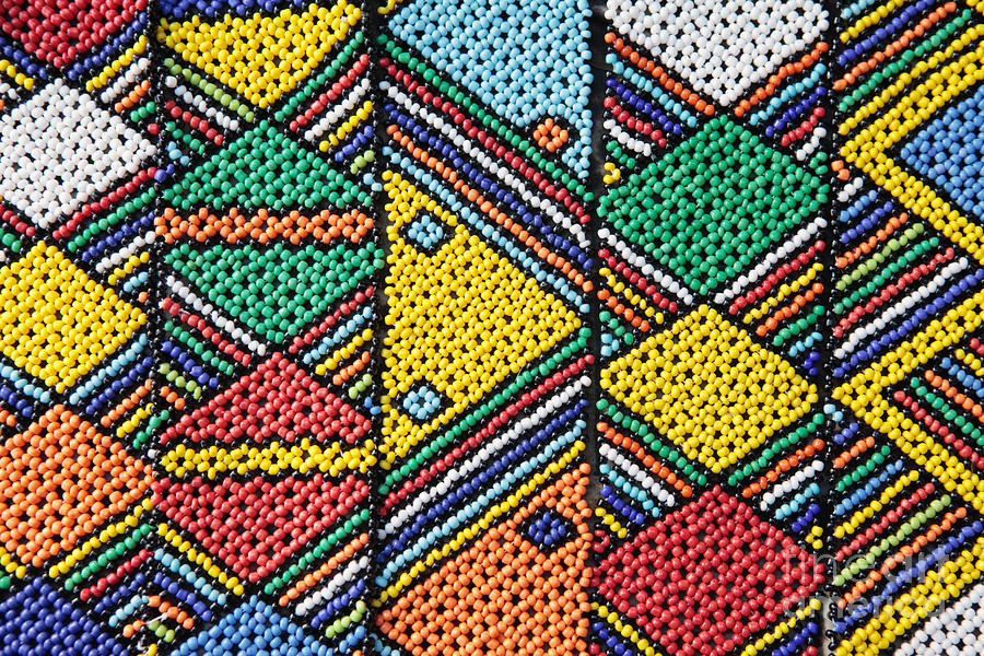 African Beadwork 1 Photograph By Neil Overy