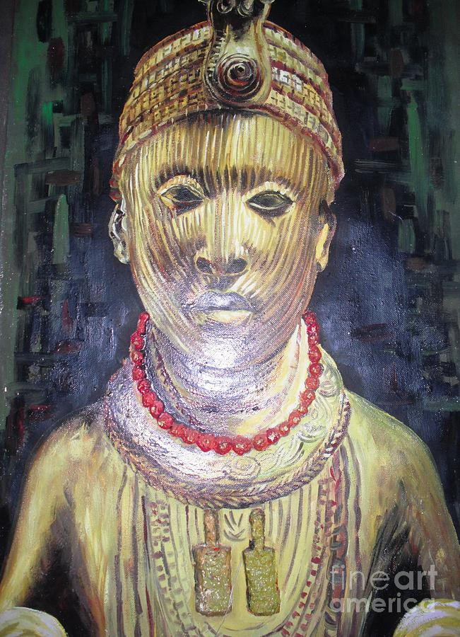 African King Painting by Dennis Spaine