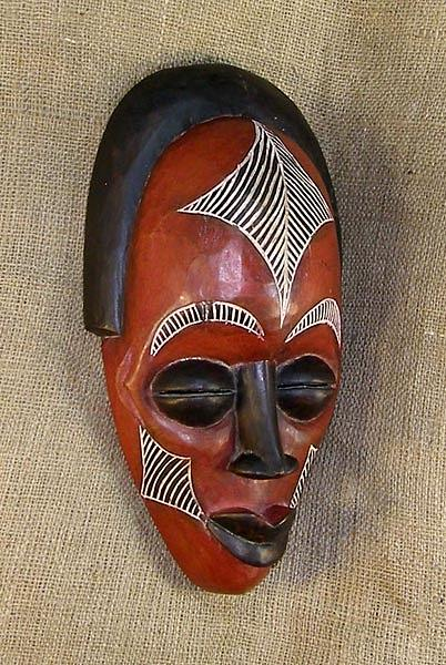 African Mask Sculpture by Ngwanyam Adolf Loraterr