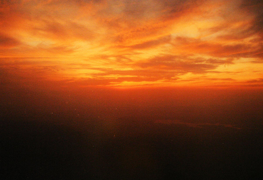 Sun Set Photograph - African Sky by Kehinde Thompson