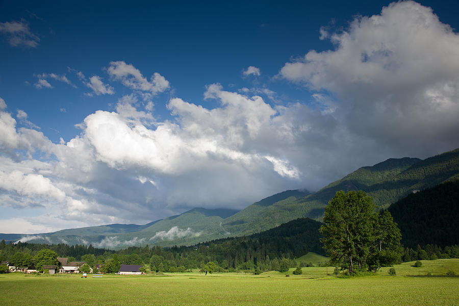 Bohinj Photograph - After Storm Light by Ian Middleton