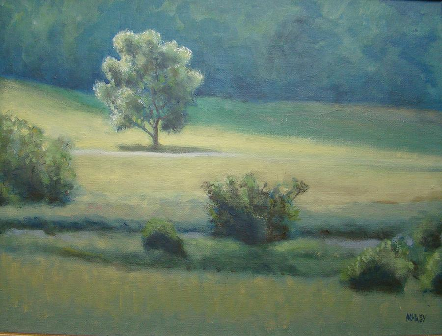 Meadow Painting - After The Rain by Mark Haley