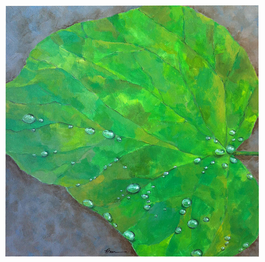Nature Painting - After The Rain by Thomas Dreesen