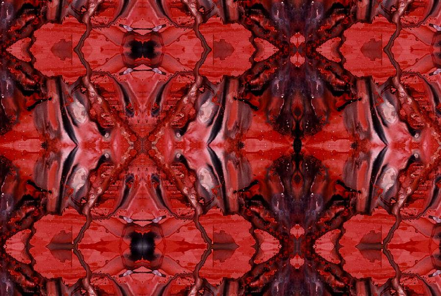 Abstract Digital Art - Afterglow Pattern by Dan Cope