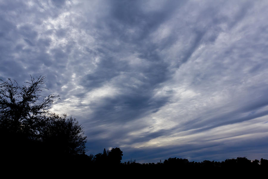 Sky Photograph - Afternoon Blues by Nicholas Evans