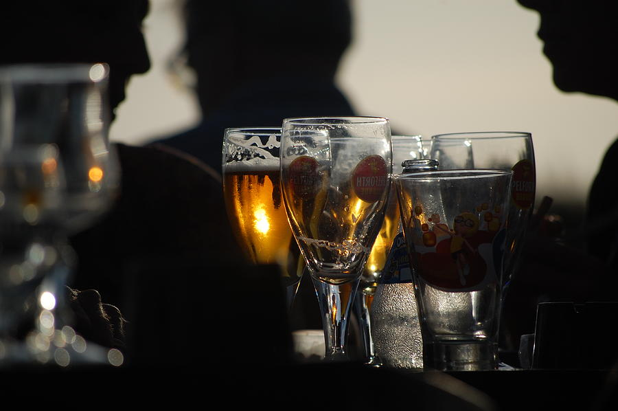 Pure Photograph - Afternoon Drinks by Dickon Thompson