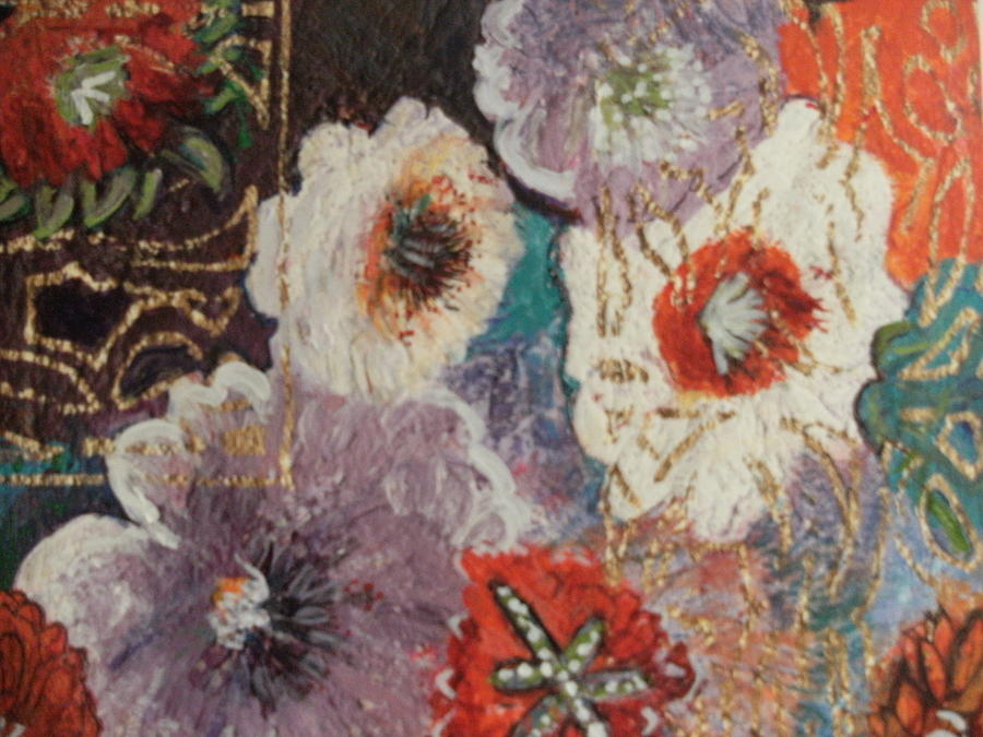 Flowers Painting - Afternoon Imagination  by Anne-Elizabeth Whiteway