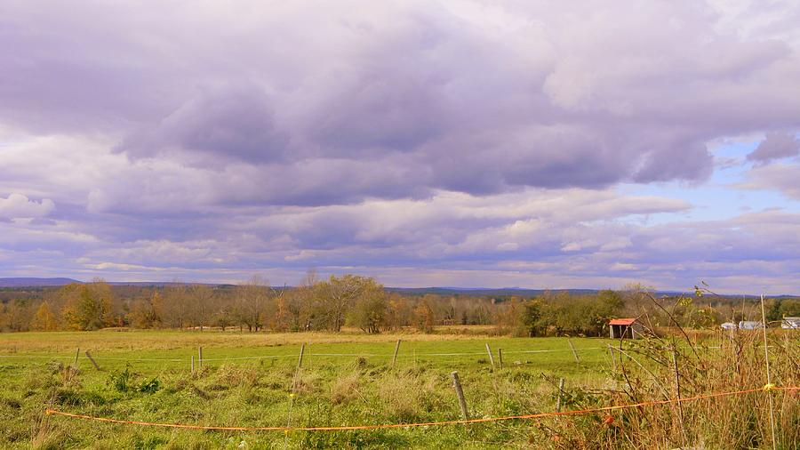 Fields Photograph - Afternoon In The Country by Katina Cote