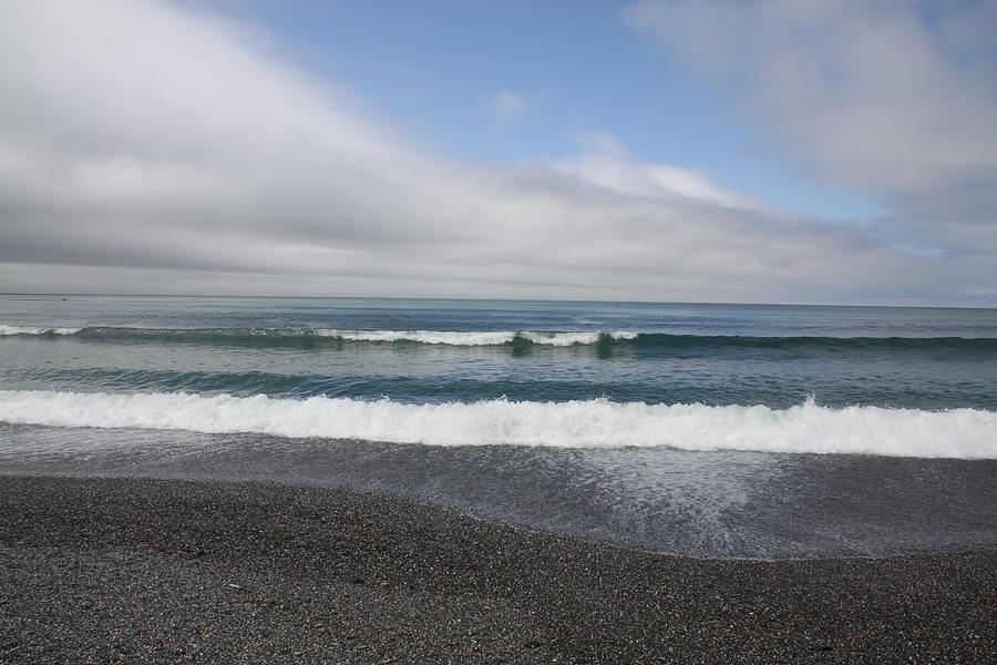 Agate Beach Photograph - Agate Beach Surf by Michael Picco