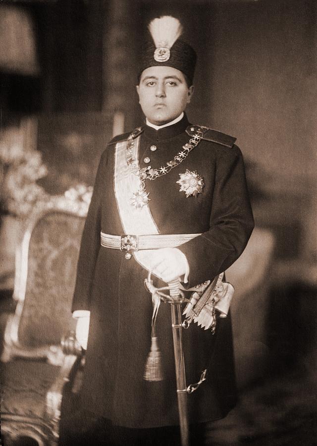 History Photograph - Ahmad Shah Qajar 1897-1929, The Last by Everett