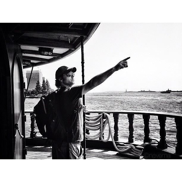 Blackandwhite Photograph - Ahoy! by Natasha Marco