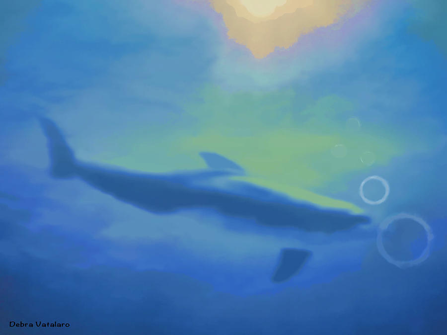 Air Bubble Play Painting - Air Bubble Play  by Debra     Vatalaro