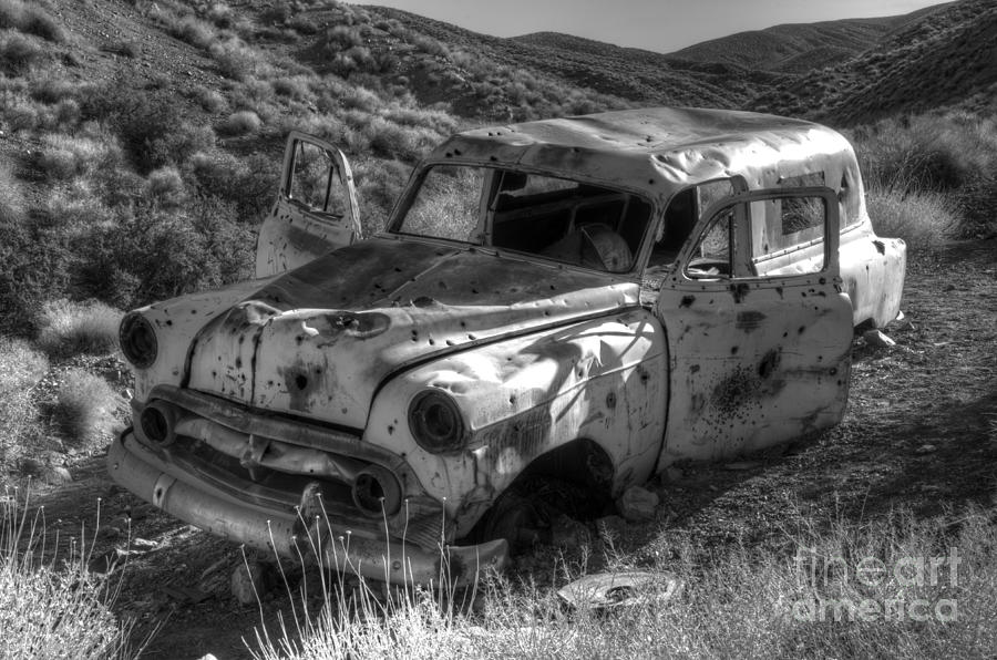 Old Cars Photograph - Air Conditioned By Bullet by Bob Christopher