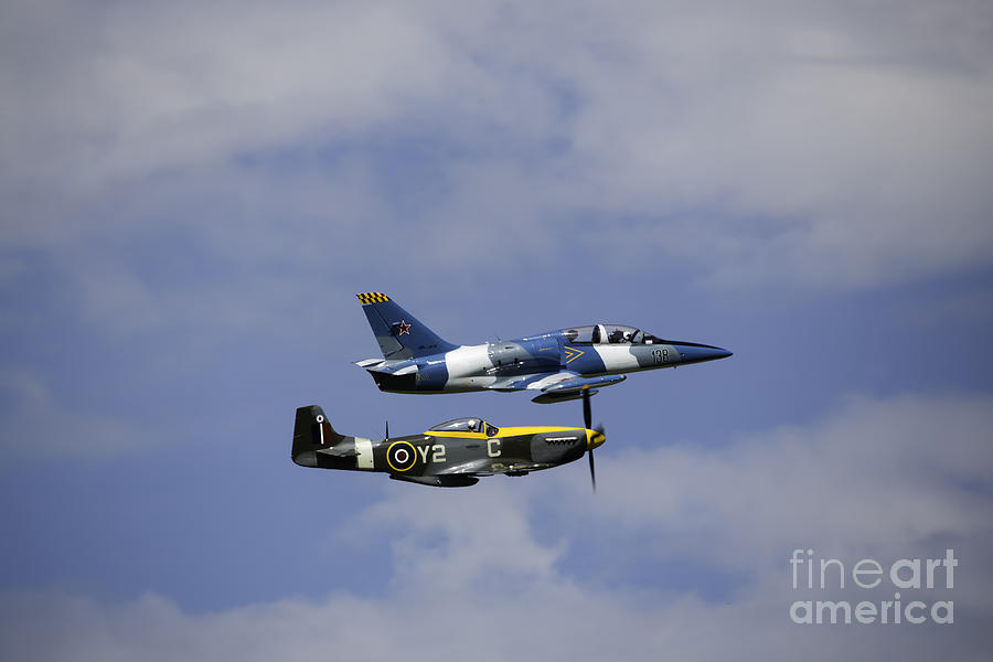 Air Show Photograph - Air Show 2 by Darcy Evans
