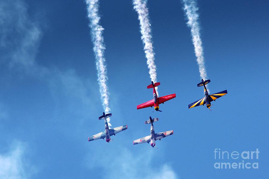 Accuracy Photograph - Air Show by Carlos Caetano